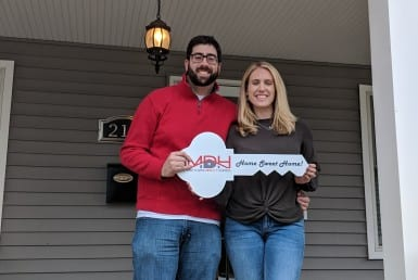 Ashleigh & Greg Buy a Cranford Home